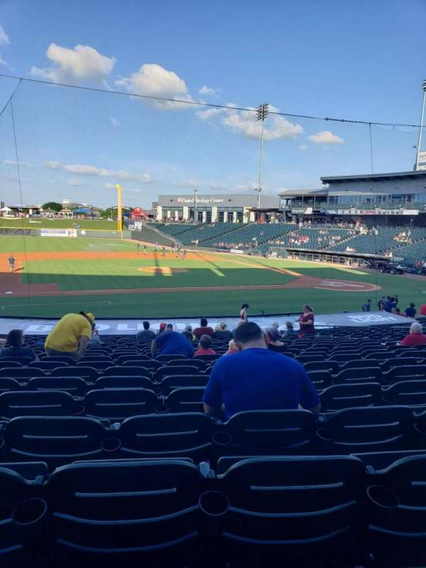 Dell Diamond, section: 115, row: 21, seat: 10