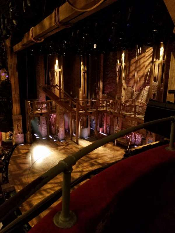 Richard Rodgers Theatre, section: Box, row: G, seat: 3