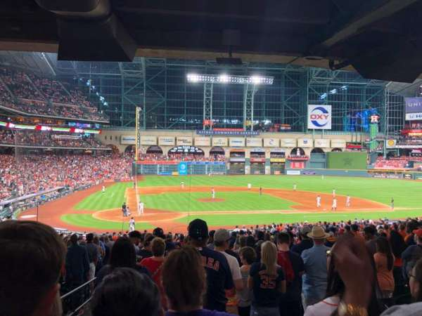 Minute Maid Park, section: 122, row: 38, seat: 19