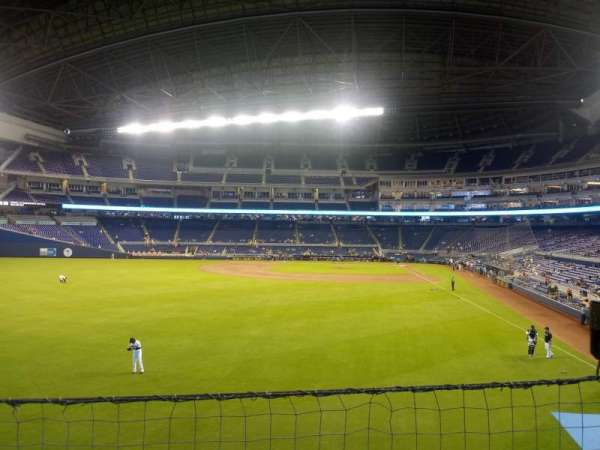 Marlins Park, section: 30, row: 1 , seat: 16