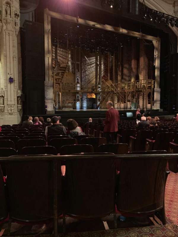 Orpheum Theatre (San Francisco), section: Orchestra, row: R, seat: 5