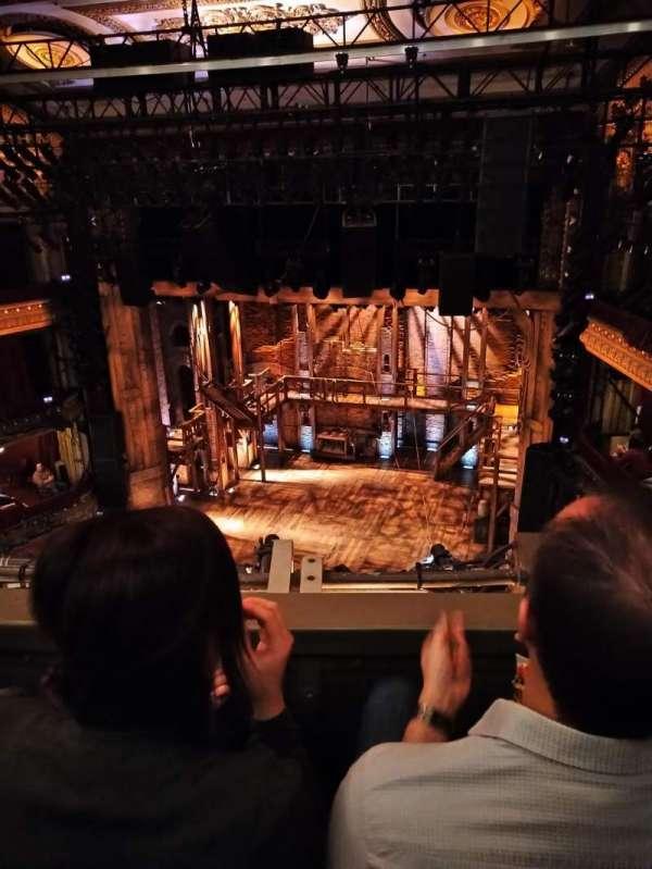 CIBC Theatre, section: BALCRC, row: B, seat: 422