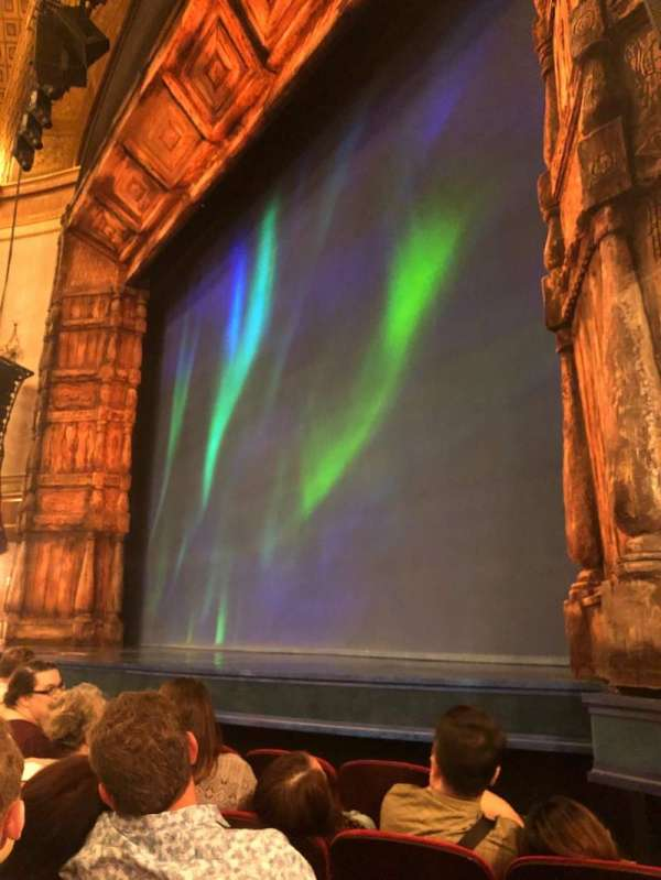 St. James Theatre, section: Orchestra, row: D, seat: 16