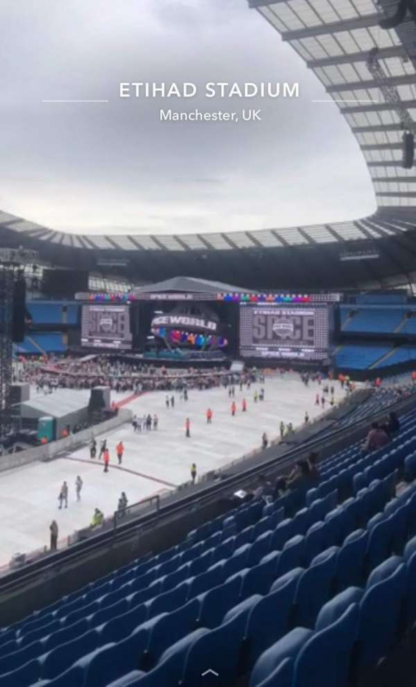 Etihad Stadium (Manchester), section: 208