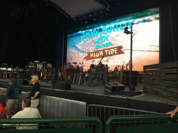 Cynthia Woods Mitchell Pavilion, section: 103, row: C, seat: 13