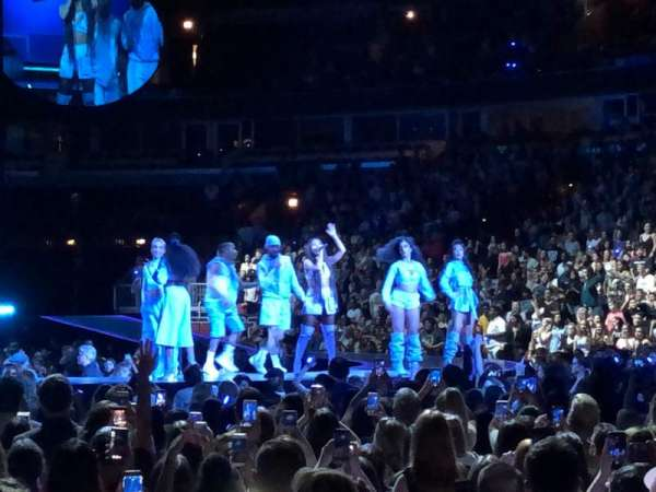 United Center, section: 110, row: 2, seat: 3