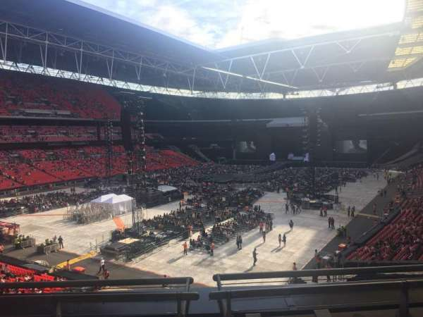 Wembley Stadium , section: 209, row: 3, seat: 180