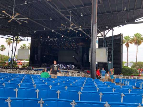iThink Financial Amphitheatre, section: 5, row: W, seat: 35