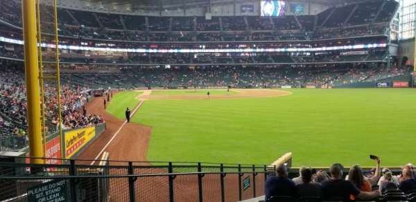 Minute maid park, section: 152, row: 14, seat: 3