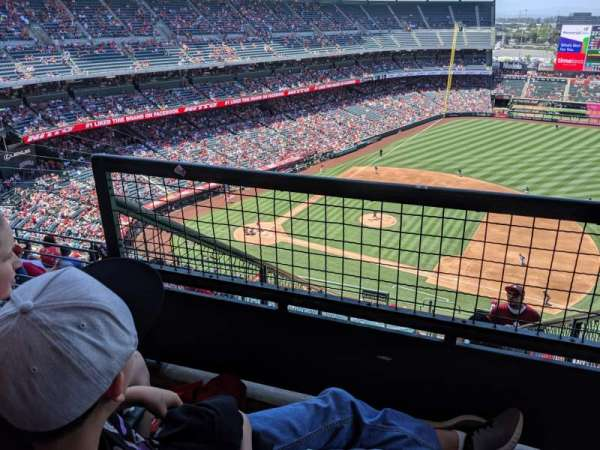 Angel Stadium, section: V529, row: F, seat: 3