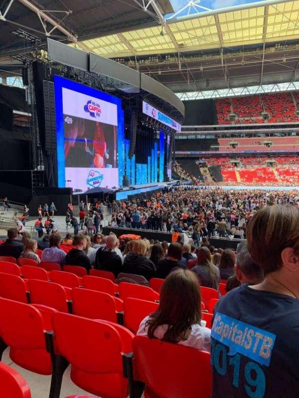 Wembley Stadium, section: 126, row: 20, seat: 88