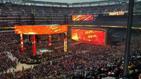 Metlife Stadium , section: Private Club/Suite 5-28, row: 1, seat: 1,2