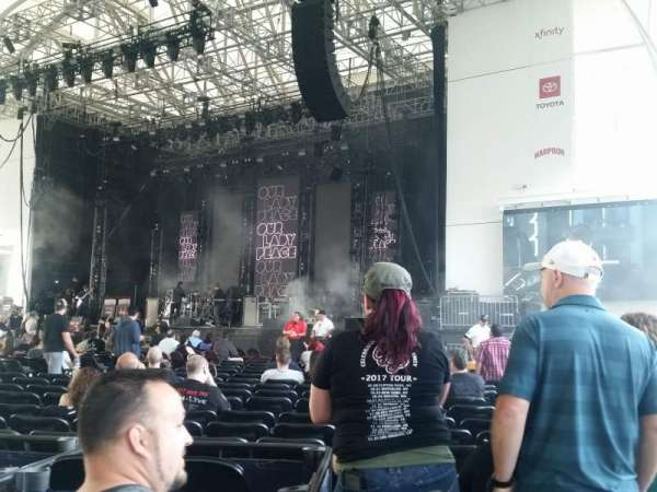 Leader Bank Pavilion, section: 1, row: z, seat: 10