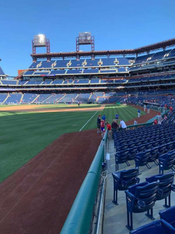 Citizens Bank Park, section: 139, row: 15, seat: 7