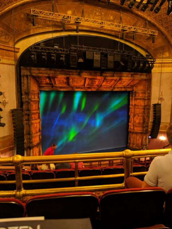 St. James Theatre, section: Mezz, row: L, seat: 13