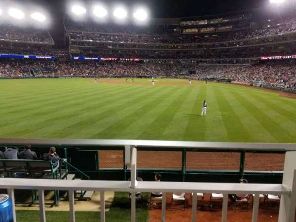 Nationals Park, section: 102, row: L, seat: 17