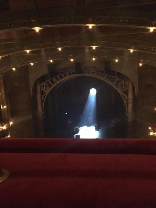 Lyric Theatre, section: Balcony, row: A, seat: 117