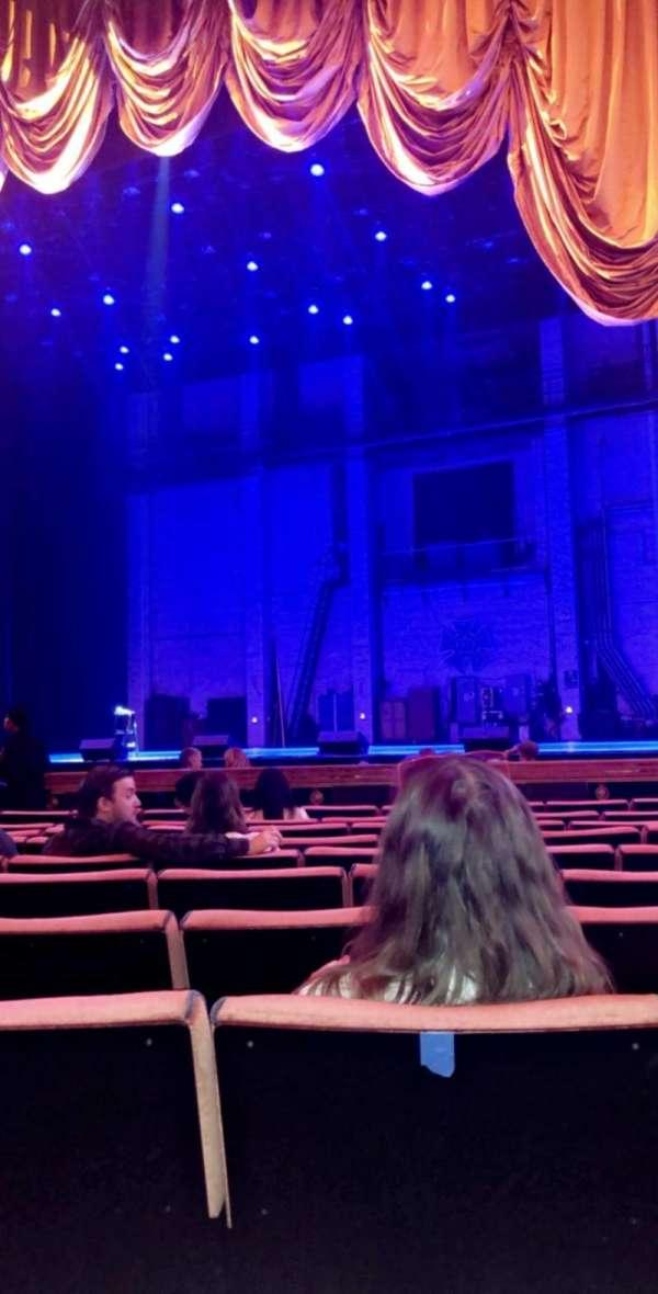 Radio City Music Hall, section: ORCH3, row: KK, seat: 303
