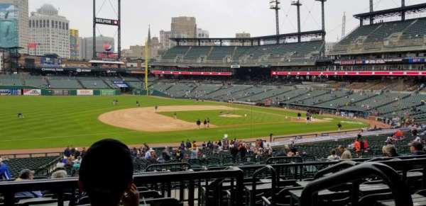 Comerica Park, section: 137B, row: F, seat: 2