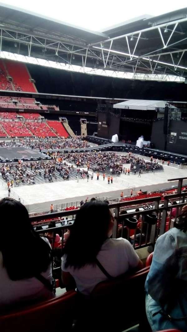 Wembley stadium, section: 202, row: 10, seat: 30
