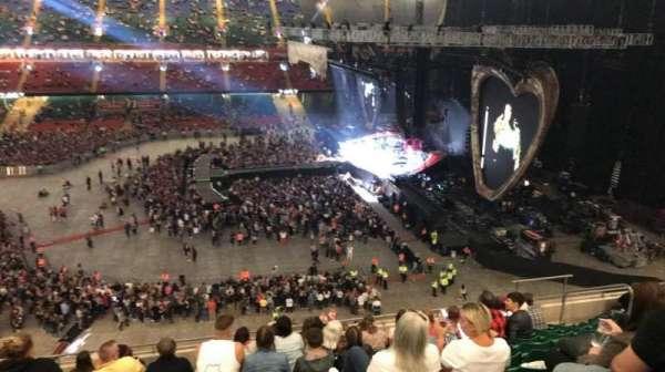 Principality Stadium, section: U8, row: 12, seat: 15