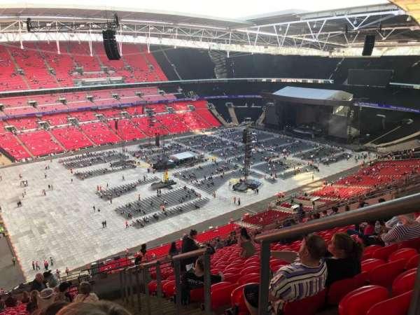Wembley Stadium, section: 505, row: 25, seat: 138