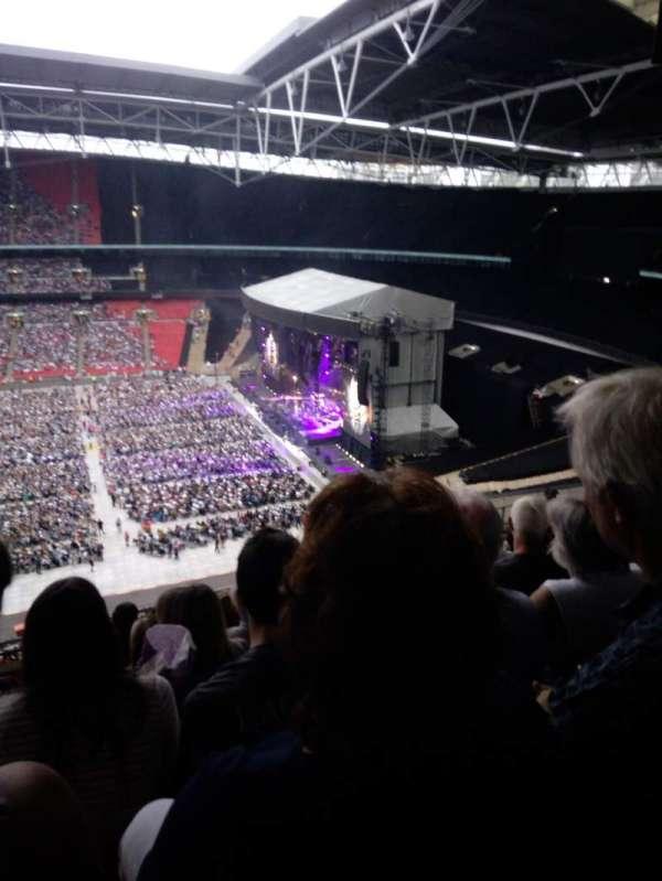 Wembley Stadium, section: K, row: 11, seat: 330