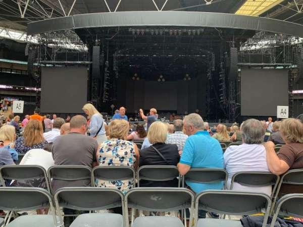 Wembley Stadium, section: B4, row: N, seat: 16
