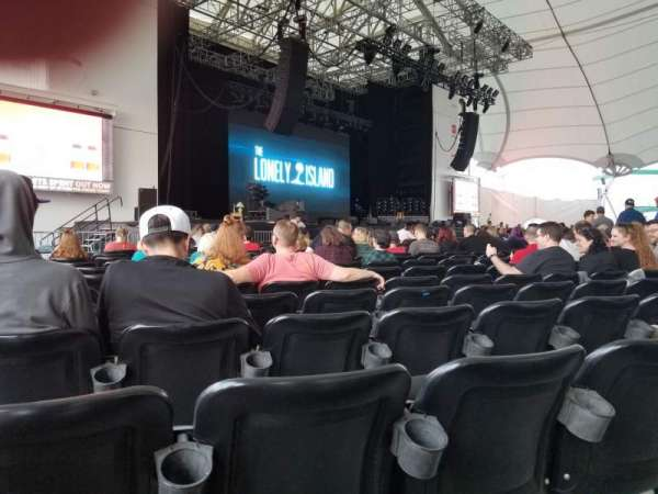 Leader Bank Pavilion, section: 3, row: W, seat: 23