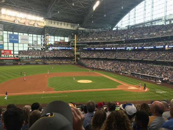 Miller Park, section: 224, row: 7, seat: 14