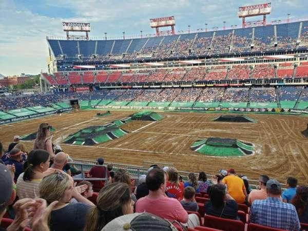 Nissan stadium , section: 232, row: K, seat: 17