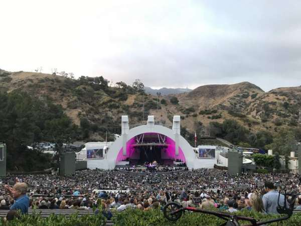 Hollywood Bowl, section: S, row: 2, seat: 114