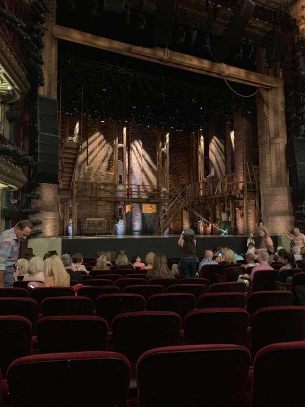 CIBC Theatre, section: Orchestra L, row: P, seat: 11