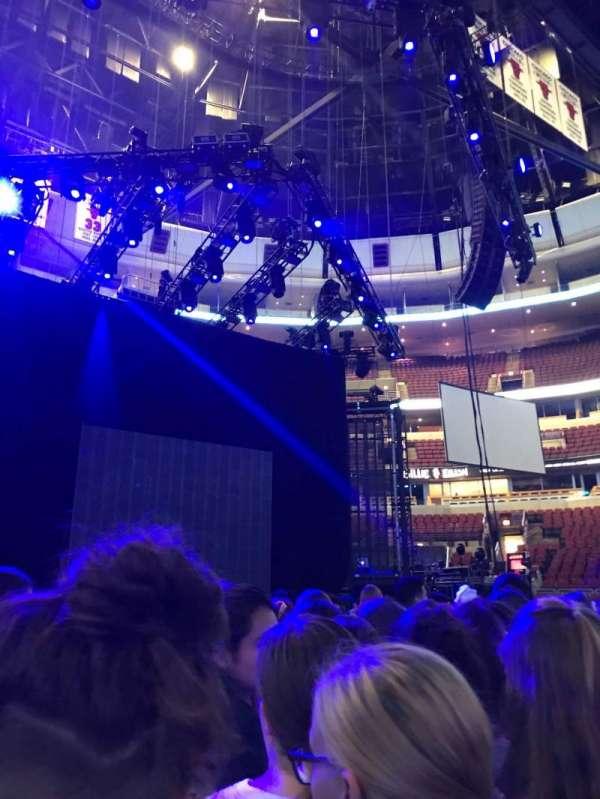 United Center, section: GA Floor Standing