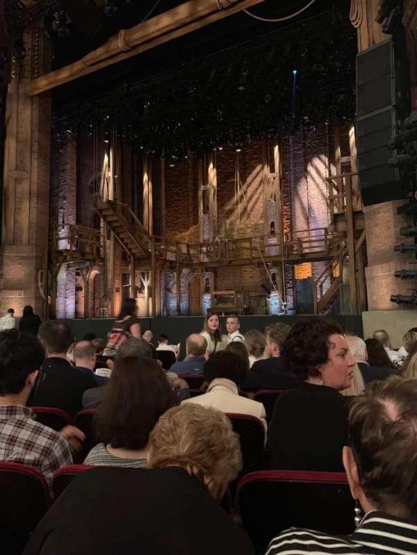 CIBC Theatre, section: Orchestra r, row: L, seat: 12