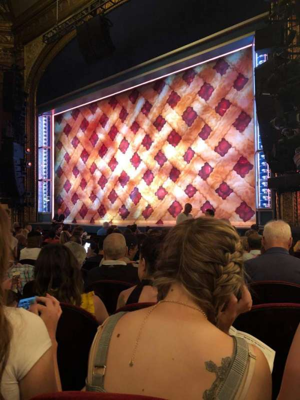 Brooks Atkinson Theatre, section: Orchestra, row: K, seat: 20