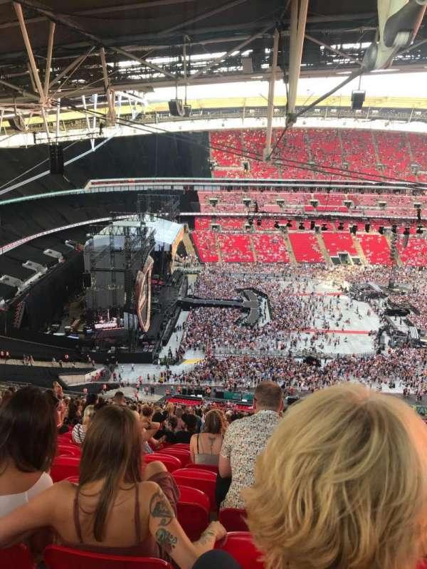 Wembley Stadium, section: 529, row: 41, seat: 83