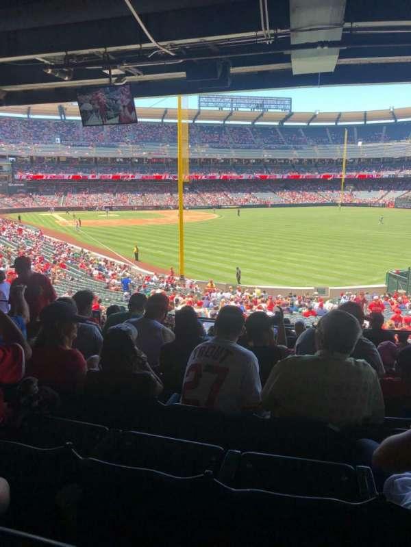 Angel Stadium, section: T232, row: J, seat: 7