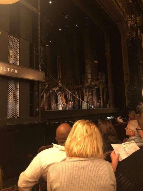 Hippodrome Theatre, section: Left Orchestra, row: E, seat: 13-15
