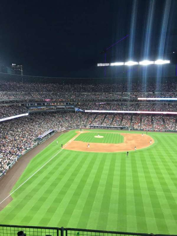 Coors Field, section: L306, row: 4, seat: 9