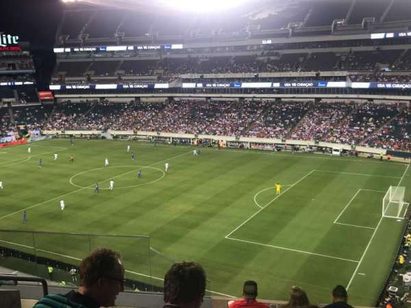 Lincoln Financial Field, section: C26, row: 12, seat: 17