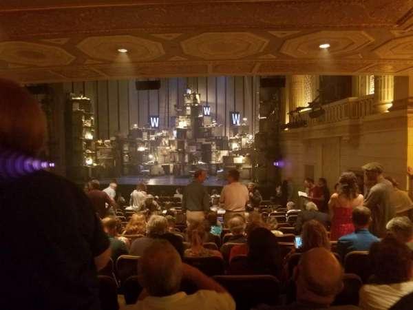 Samuel J. Friedman Theatre, section: Orchestra R, row: P, seat: 120