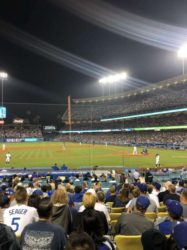 Dodger Stadium, section: 17FD, row: N, seat: 5