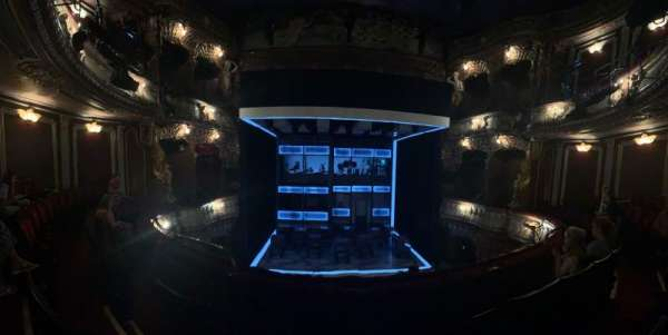 Apollo Theatre, section: dress circle, row: c, seat: 19