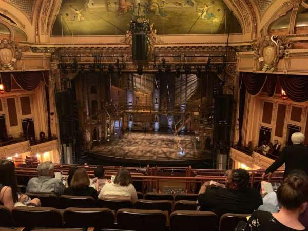 Hippodrome Theatre, section: Center Middle Balcony, row: J, seat: 316