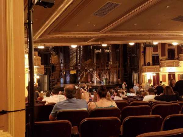 Hippodrome Theatre, section: Left Orchestra, row: BB, seat: 25