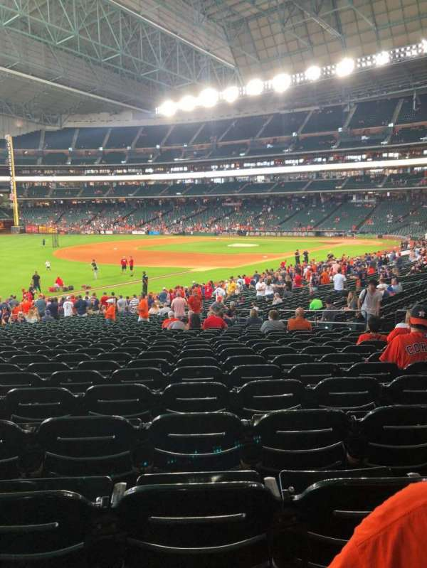 Minute Maid Park, section: 107, row: 32, seat: 16