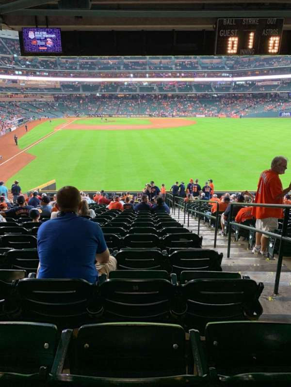 Minute Maid Park, section: 152, row: 21, seat: 23