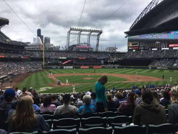 T-Mobile Park, section: 126, row: 33, seat: 12