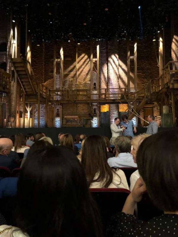 CIBC Theatre, section: Orch-c, row: J, seat: 107